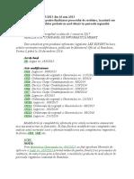 L 165 2013 - Măsurile Pentru Finalizarea Procesului de Restituire, În Natură Sau Prin Echivalent, A Imobilelor Preluate În Mod Abuziv În Perioada Regimului Comunist În România