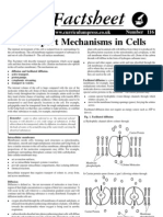 Transport Mechanisms in Cells