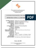 Programa Introducción a la Informática