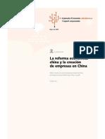 La reforma china