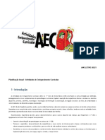 Planificação Anual AEC – 2020-2021