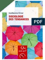 Sociologie des tendances-2020