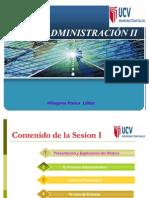 SESION I ADM II  2010-I
