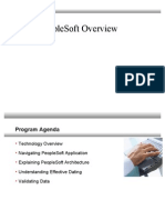 PeopleSoft Overview
