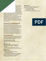 Class- Hemomancer D&D