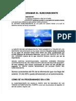 Qdoc.tips Reprogramar El Subconsciente