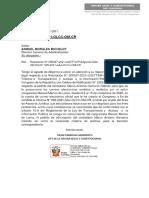 Oficio N° 189-2021-DGA-CR - Informe Legal sobre emails de Congresistas