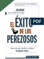 El Exito de los Perezosos de Ernie J Zelinski