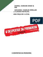 O Despertar Da Primavera - Montagem Brasileira