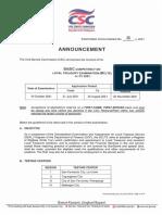 Exam Announcement No06s2021 BCLTE