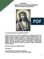 ROSARIO DE LAS PERLAS DE LA CORONA DE ESPINAS DE NUESTRO SEÑOR JESUCRISTO