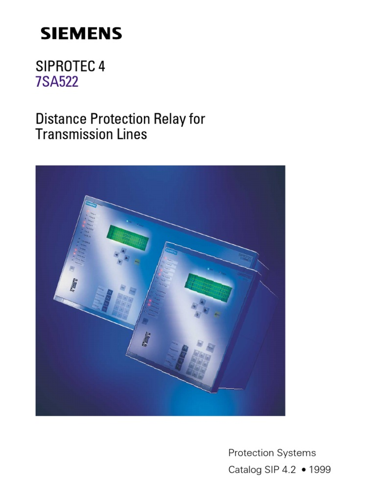 distance protection relay1 relay electric power transmission rh scribd com