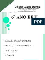 6°Ano EF II  SD  21-06