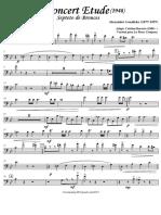 Concert Etude - Brass Septet - Trombone 1