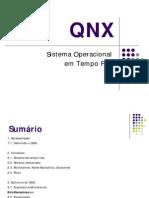 QNX - Sistema Operacional Tempo Real