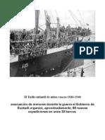 El Exilio Infantil de Niños Vascos 1936-1940