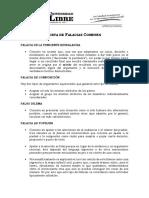 Falacias - Comunes (1)