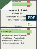 03.Aula 3 - Padrões W3C, Usabilidade e Infraestrutura