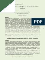 2021 O Programa Mais Alfabetização na realidade de Maceió