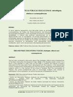 2019 O IDEB e as políticas públicas educacionais