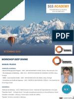 WORKSHOP - DEEP DIVING 2015 - SGS - MANUEL PELÁGIO