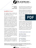 Trademarks And Patent Law Newsletter July09 (2)