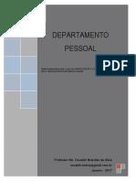 Apostila - DEPARTAMENTO PESSOAL 2017