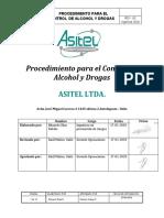 PROCEDIMIENTO DE CONTROL DE ALCOHOL Y DROGAS (002)
