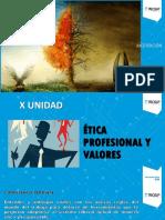 10 Ética Profesional y Valores (Diapositivas 10)