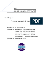 OPERATIONS MANAGEMENT  PROJECT