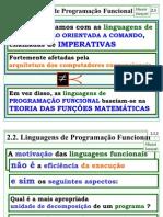 Linguagem Funcional