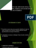 Perfil Estatigrafico - Cantera Monterrey