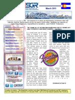 COESGR March 2011 Newsletter