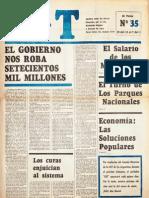 CGT de los Argentinos Nº 35