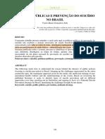 Políticas Públicas e Prevenção do Suicídio no Brasil