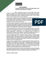 Nota de Prensa_MEF emitió opinión favorable a la Adenda 13 del proyecto Majes Siguas II que generará miles de empleos en Arequipa
