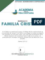 Familia Cristiana (Clase 2)