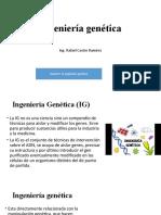 Semana 4a Ingenieria genetica