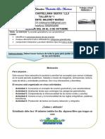 Lengua Castellana Periodo #4 - 28 Al 3 de Octubre