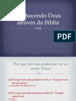 Conhecendo Deus Através Da Bíblia