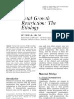 2-fetal growth restriction etiology