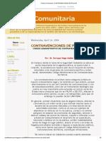 Policia Comunitaria_ CONTRAVENCIONES DE POLICIA