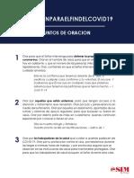 #OracionparaelFindeCOVID19 Puntos de oracion - Spanish.pdf