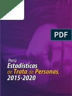 INEI Estadisticas Tdp 2015 -2020