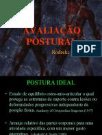 Avaliacao postural 2010