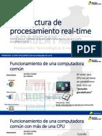 S401. Arquitectura de Procesamiento Real-time