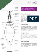 X Buoy 450 (Sea Monitoring Buoy) Data Sheet