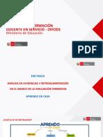Análisis de Evidencias y Retroalimentación en El Marco de La EF_AEC