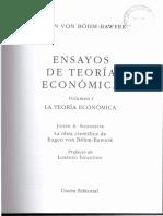 02-Bohm-Bawer - Economia y Politica