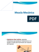 Mezcla Mecanica - Turbina